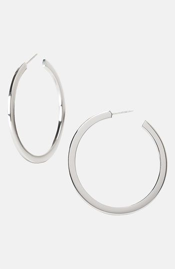 Argento Vivo  Hoop Earrings