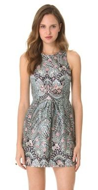 Zimmerman  Rising Feather Twist Dress