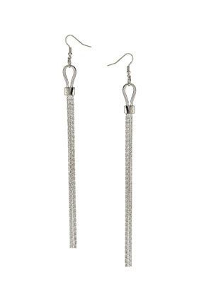 Topshop Chain Drop Earrings