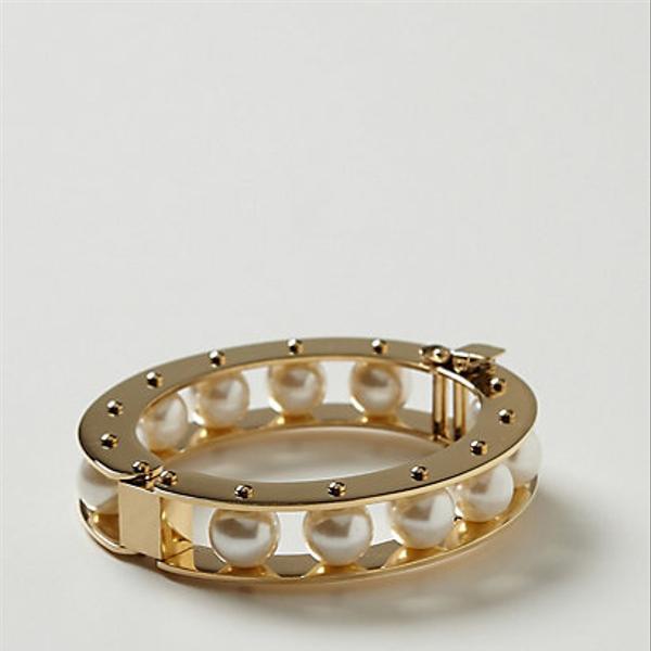 Lele Sadoughi  Eshe Pearl Bracelet