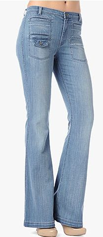 7 For All Mankind   Georgia High Waist Flare Jeans