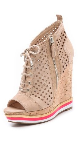 Boutique 9  Go Getter Wedge Booties