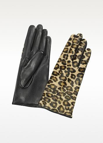 Forzieri Leopard Gloves