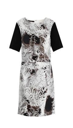 Tibi Athena Short Sleeve Dress ($