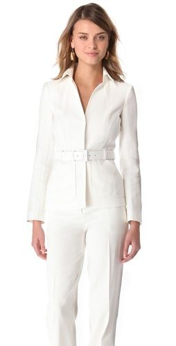 Alberta Ferretti Collection  Jacket With Belt
