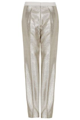 Topshop Unique Silver Pants