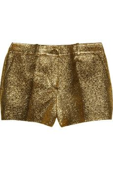 Michael Kors Metallic Brocade Shorts