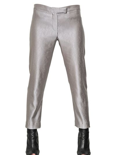 Ann Demeulemeester  Viscose Sable Trousers