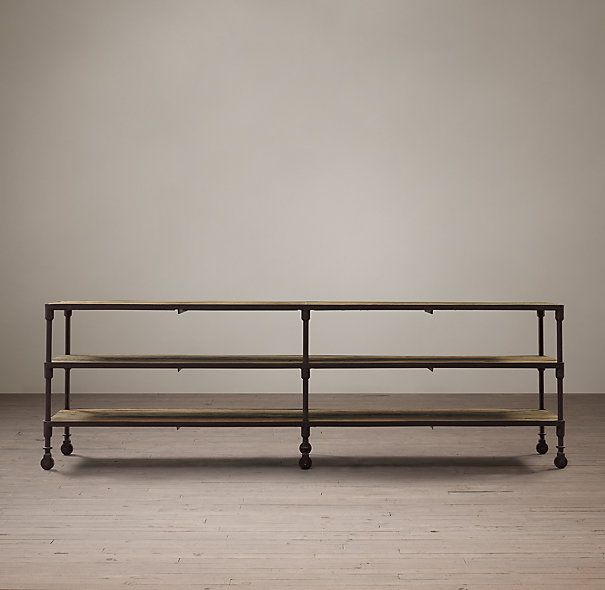 Restoration Hardware Dutch Industrial Media Console