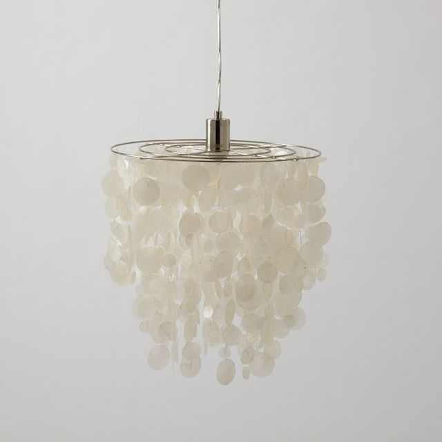 West Elm Capiz Shell Pendant