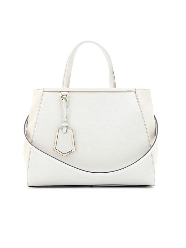 Fendi 2Jours Leather Tote