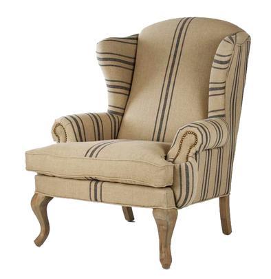 Belle Maison Francaise Napolean Wingback Chair