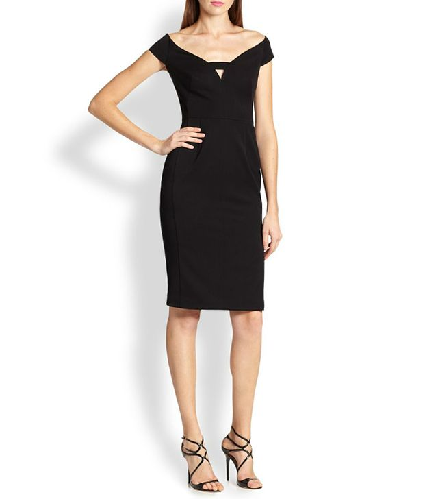 Black Halo Riya Sheath Dress
