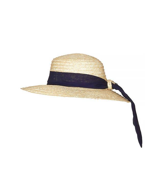 Topshop Wide Brim Boater Hat