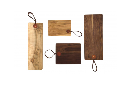 Jayson Home Leather Strap Cutting Boards