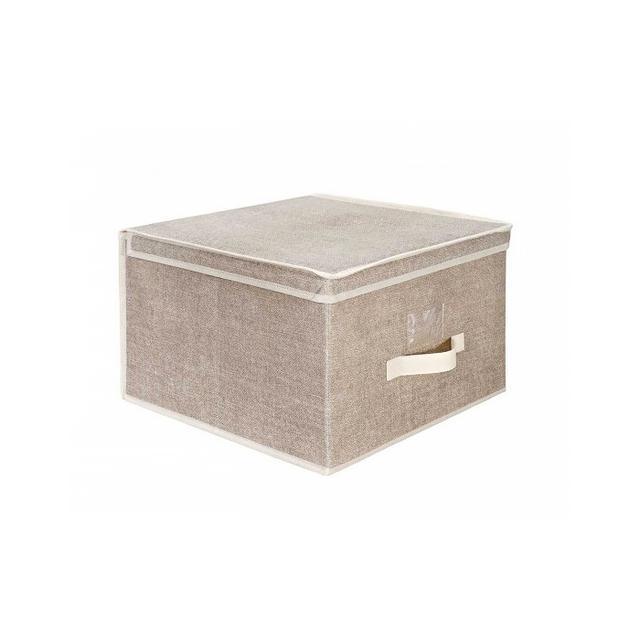Dormify Faux Jute Storage Box