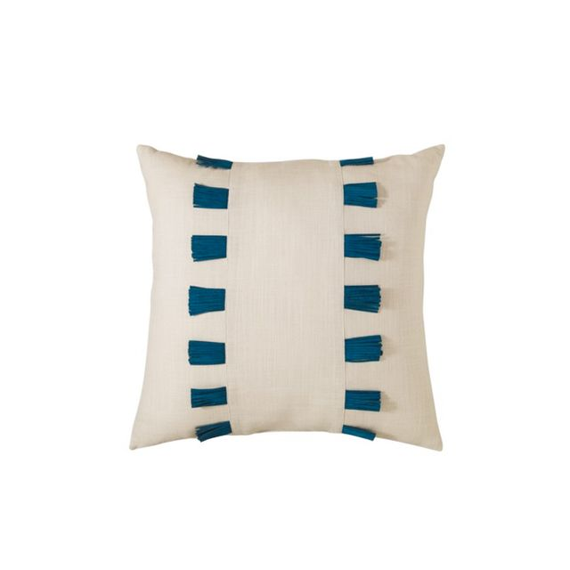 Target Nate Berkus Leather Fringe Pillow