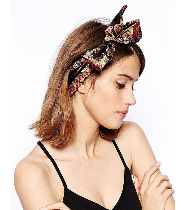 ASOS Paisley Print Headscarf