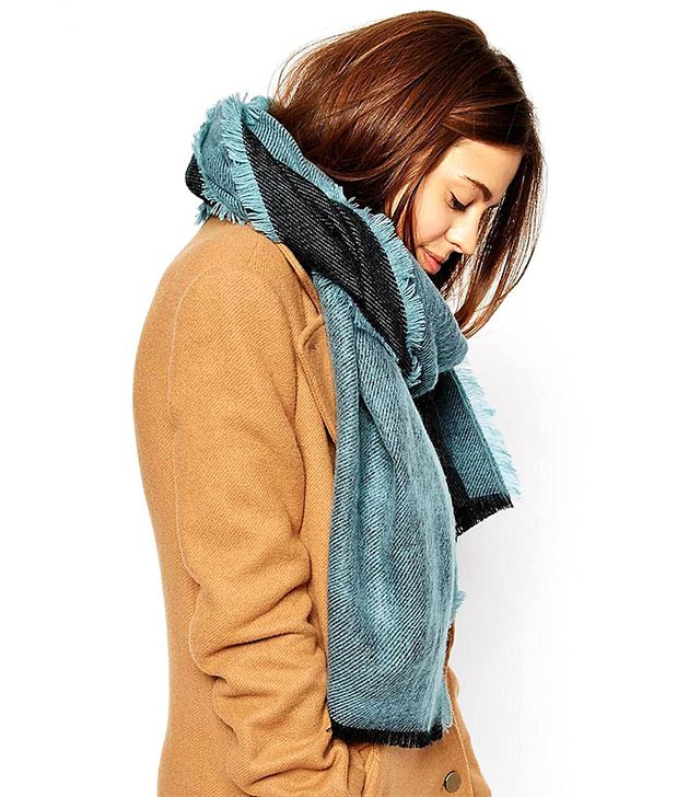 ASOS Plain Brushed Reversible Scarf