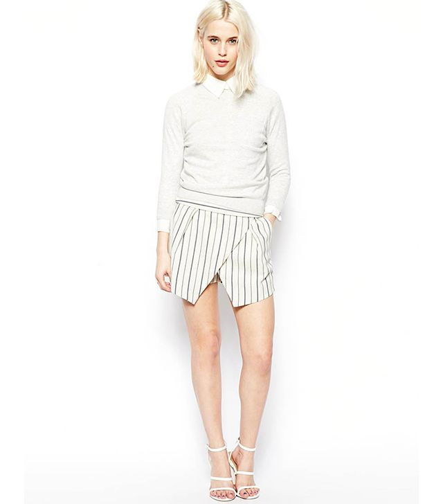 ASOS Skort in Stripe