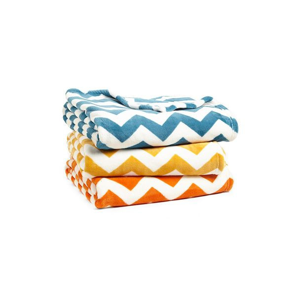 Kennebunk Home Chevron Plush Throw