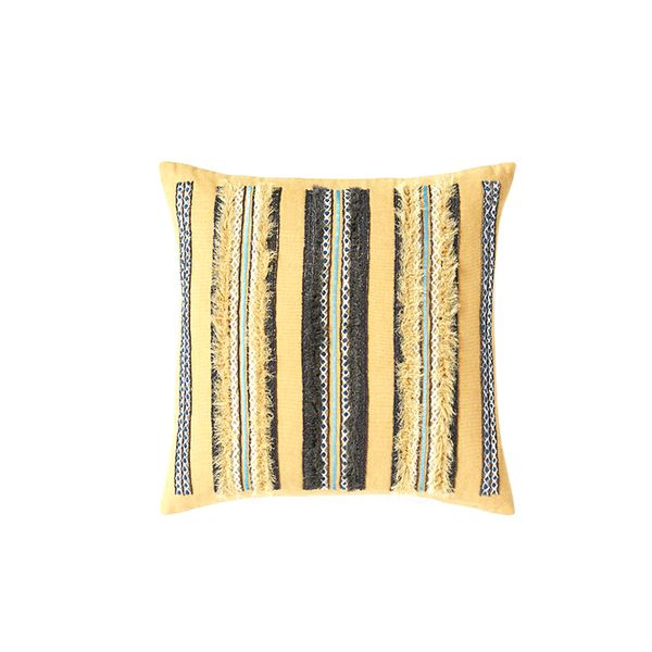 West Elm Frayed Stripe Pillow Cover