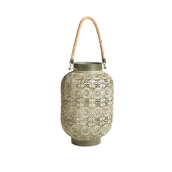 ALLSTATE Laced Tin Lantern