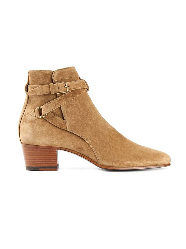 Saint Laurent Jodhpur Ankle Boots