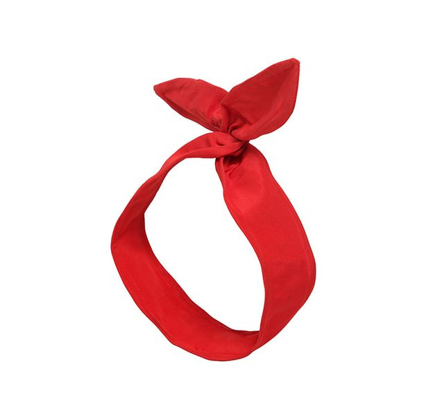 Red Valentino Taffeta Headband