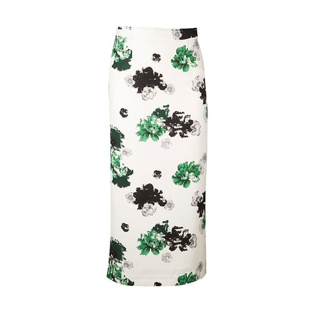 A.L.C. Bell Floral Pencil Skirt
