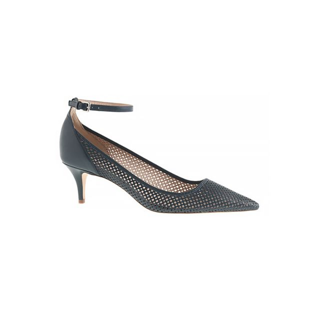 J.Crew Dulci Perforated Kitten Heel