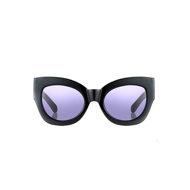 Karen Walker Black Northern Lights Sunglasses