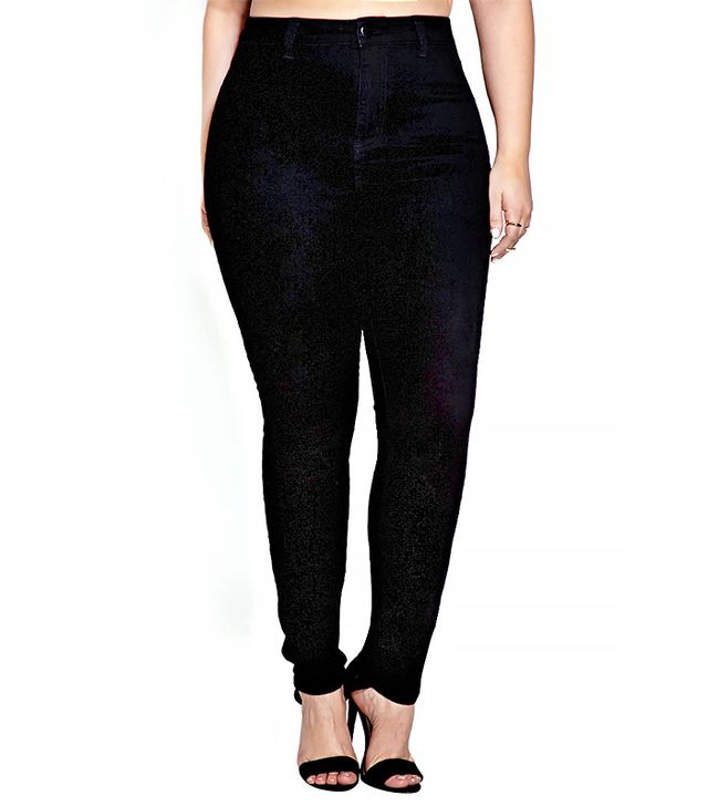 Forever 21 Everyday High-Waisted Skinny Jeans