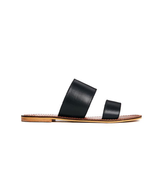 ASOS Leather Sliders