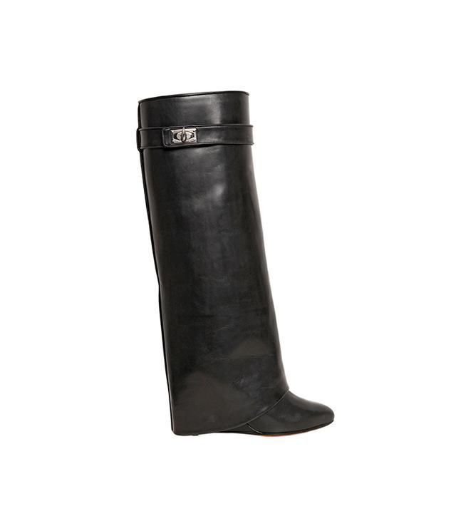 Givenchy Shark Lock Wedge Boots