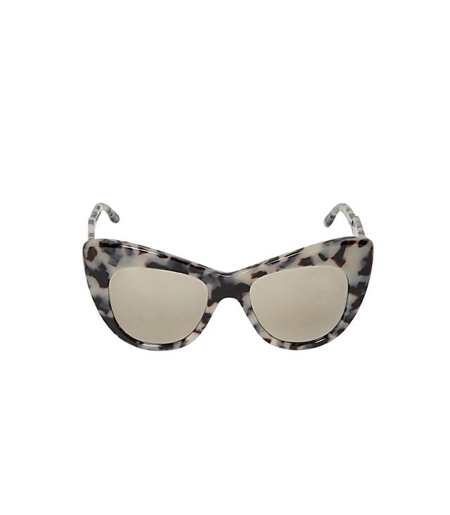 Stella McCartney Tortoise Cat-Eye Sunglasses