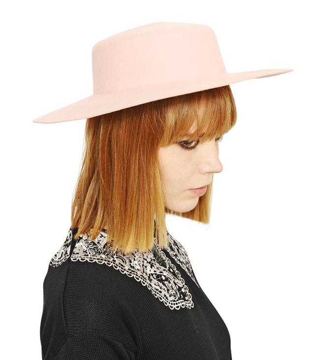 Vivetta Rabbit Fur Felt Hat