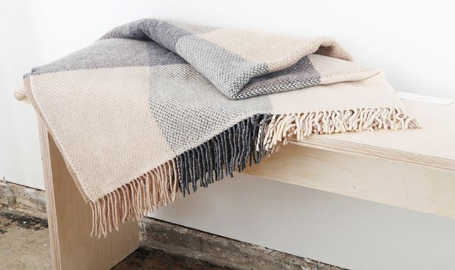 Sorcha Cashmere and Merino Wool Throw