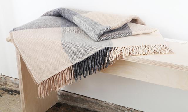Sorcha Cashmere and Merino Wool Throw