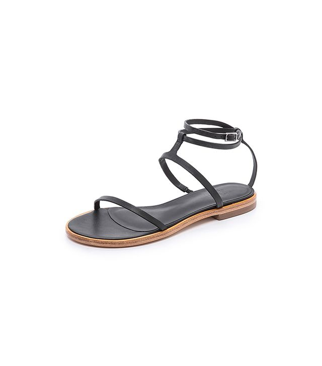 Tuesdayshoesday Shop Our Favourite Flat Leather Sandals