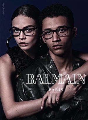 Balmain F/W 2014 Eyewear Campaign