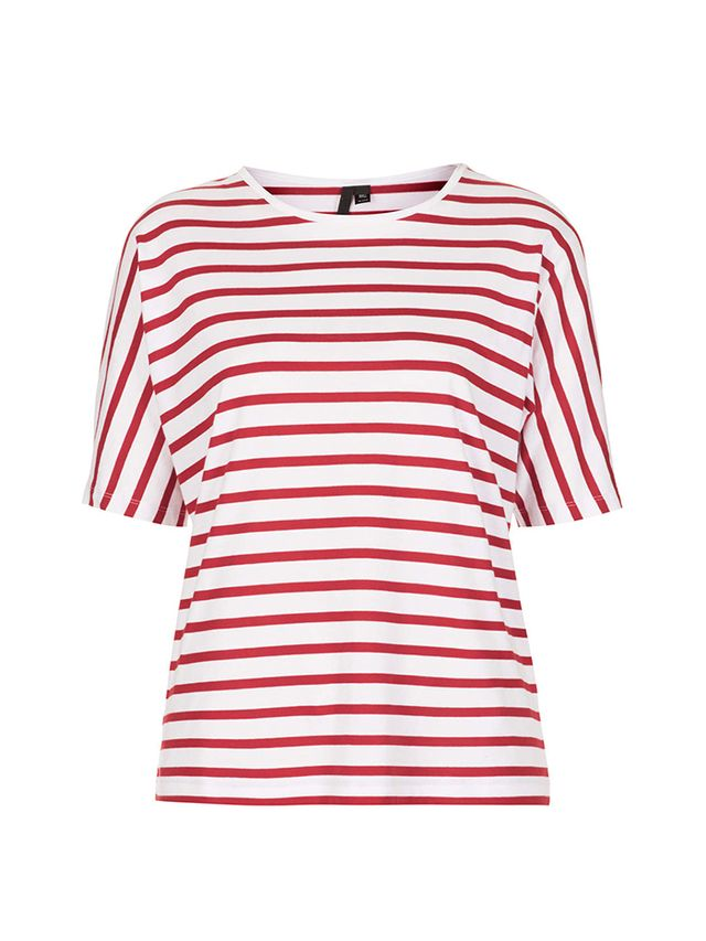 Topshop Seamless Stripe Tee by Boutique