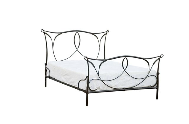 High Camp Home Iron Scroll Bed
