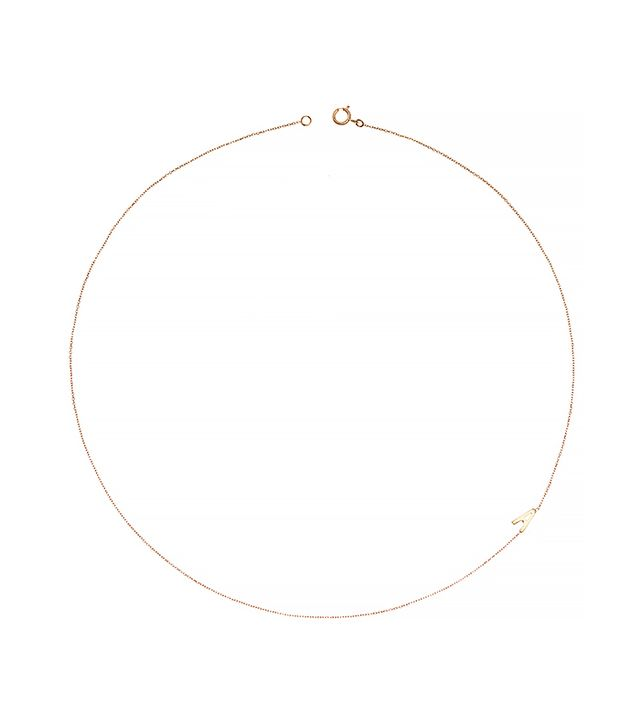 Bianca Pratt 10K Yellow Gold Initials Necklace