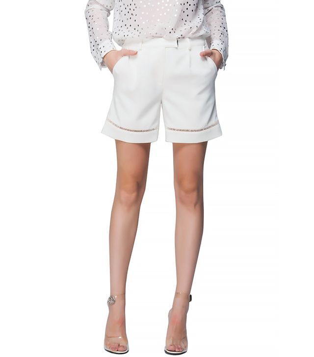 Front Row Shop Cut Out Shorts