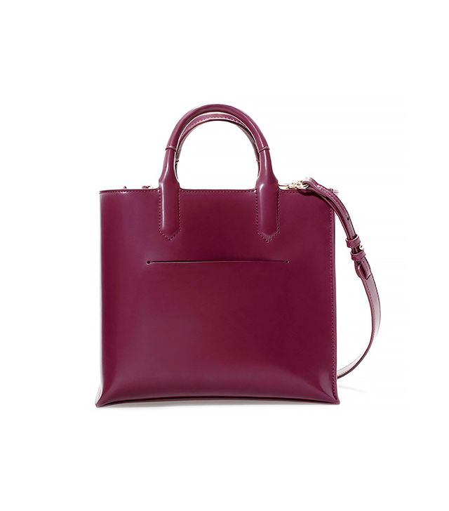 Zara Mini Shopper Bag With Pocket