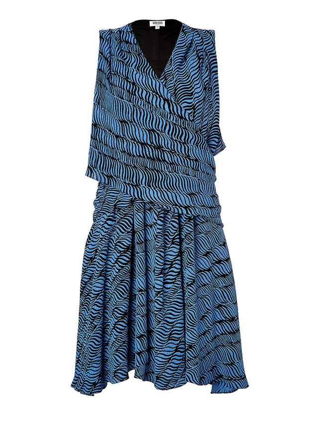 Kenzo Printed Wrap Dress