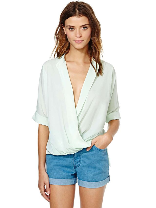 Nasty Gal Wrap It Up Top