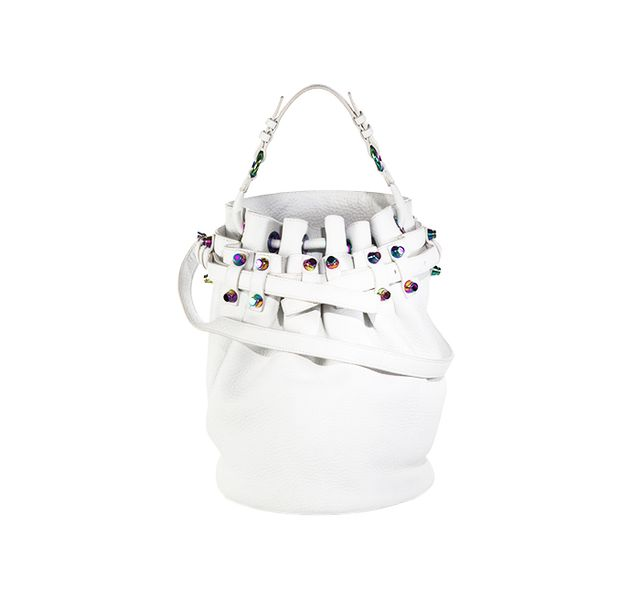 Alexander Wang Iridescent Diego Bucket Bag