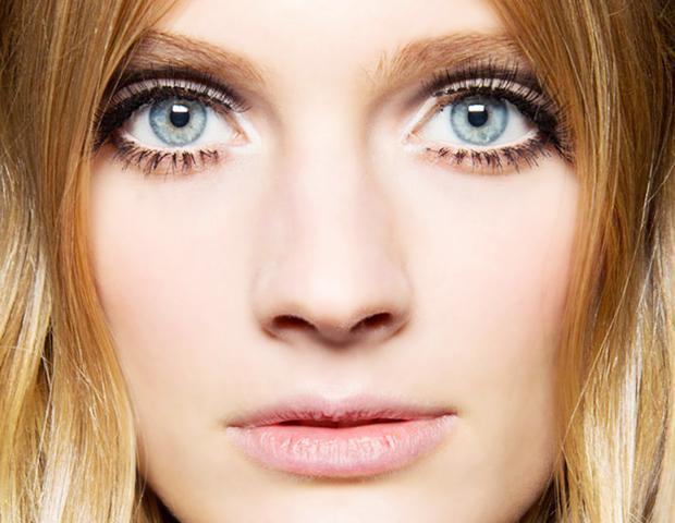 Brighten eyes with makeup